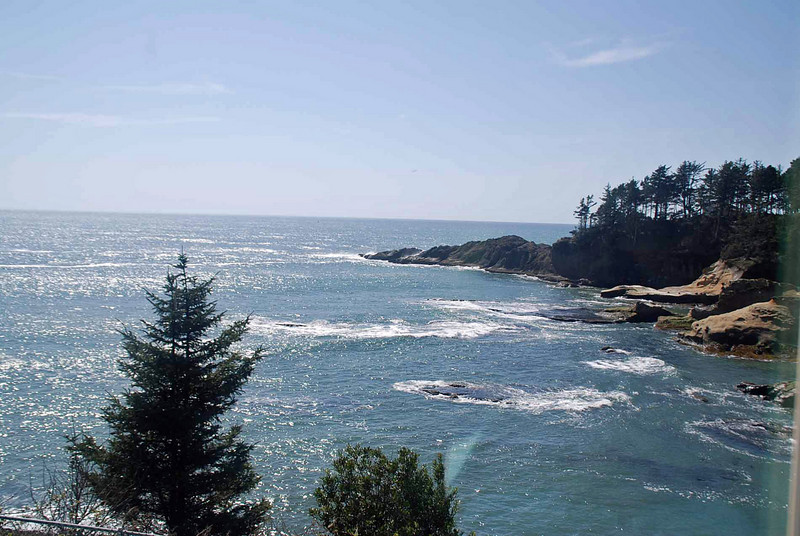 A view of the Pacific near Depoe Bay, Oregon.