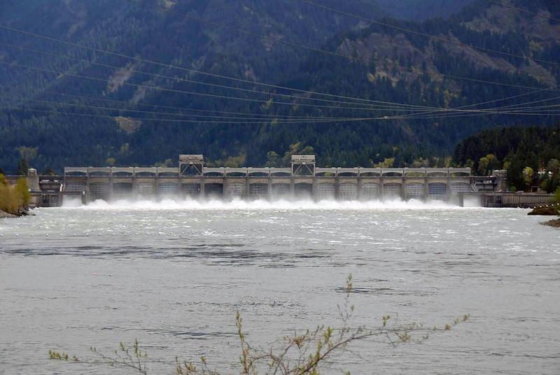 Bonneville Dam on the Columbia River.
