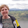 Jean Finkleman at the Columbia River Gorge.