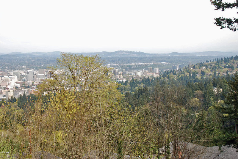 The view from the Pittock Mansion.