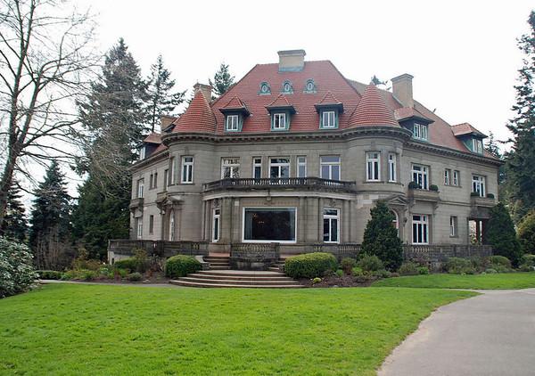 The Pittock Mansion, Portland, Oregon.