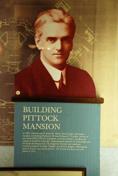 The architect of the Pittock Mansion.