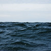 The 8 to 10 foot waves were sometimes higher than the boat.
