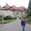 Jean at the Pittock Mansion in Portland, Oregon.