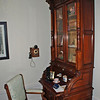 The office at the Pittock Mansion.  The wife of Henry Pittock would call for the chauffeur from the phone on the wall.