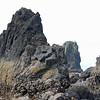 The rugged seacoast of Oregon near Haystack Rock.