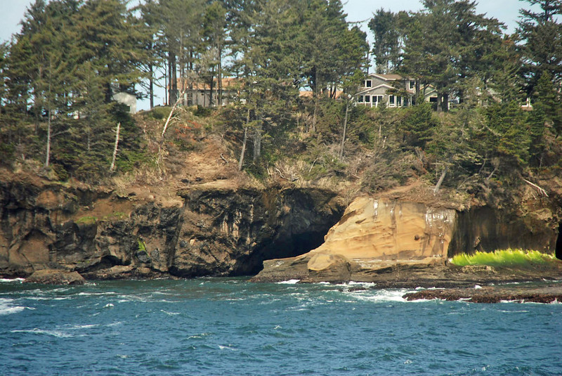 The shore near Depoe Bay, Oregon.
