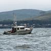 A crabbing boat.