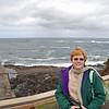 Jean Finkleman at Depoe Bay, Oregon.