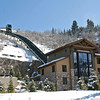 The funicular to the St. Regis Hotel in Park City, UT.