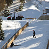 Maintaining 120-foot nordic ski jump area at the Utah Olympic Park.