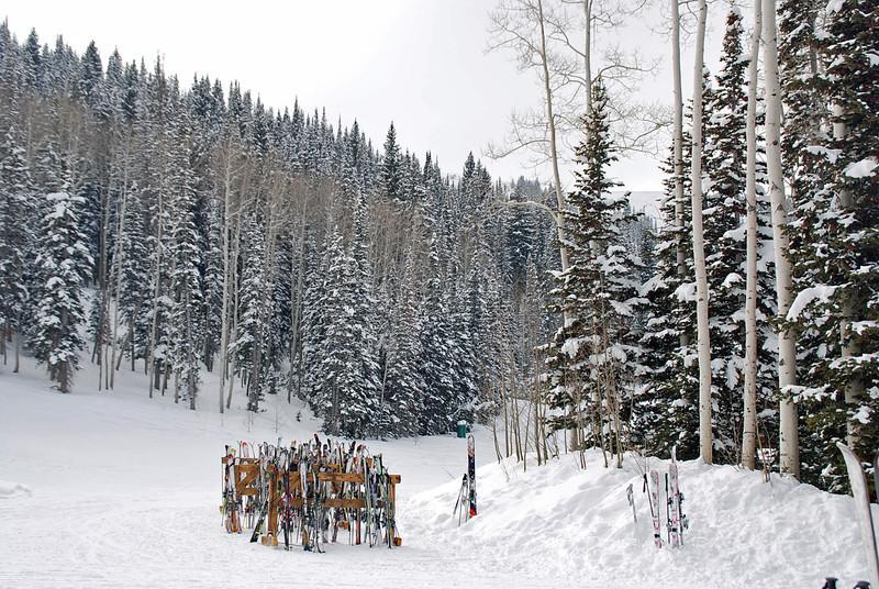 Skiing in Park City, UT.