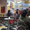 Inside Peggy Sue's Diner in San Jose.