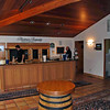 The tasting room at the Thomas Fogarty Winery.