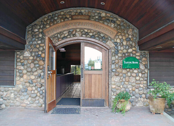 The Thomas Fogarty Winery tasting room.