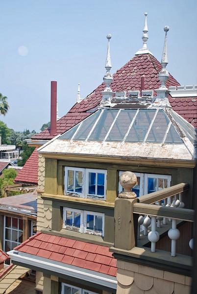 Glass roofline.