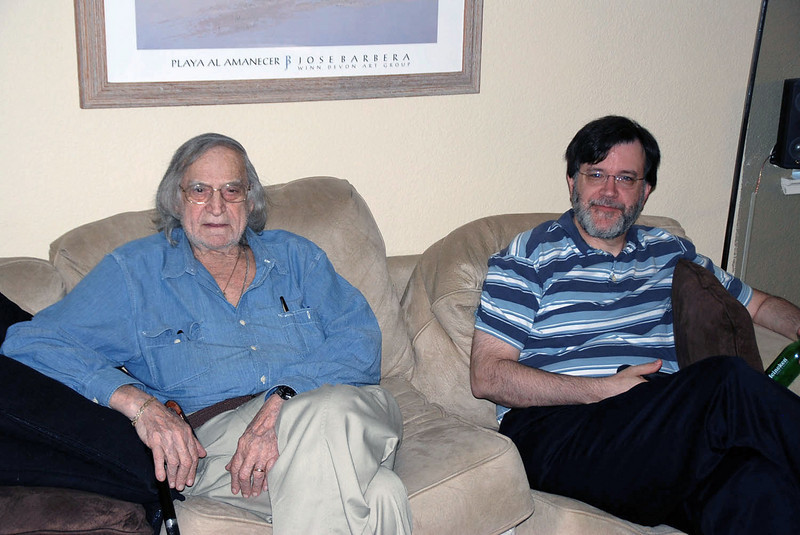 Uncle Rich and Robert Weaver.