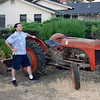 Bruce and his tractor.