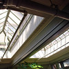 Skylights in one of the Winchester House's conservatories.