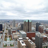 View from the top of the St. Louis Gateway Arch.