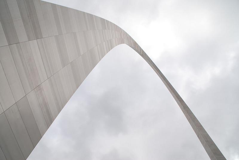 The Gateway Arch.