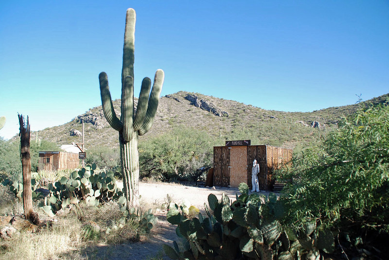 Ranch at Colossal Cave Mountain Park.
