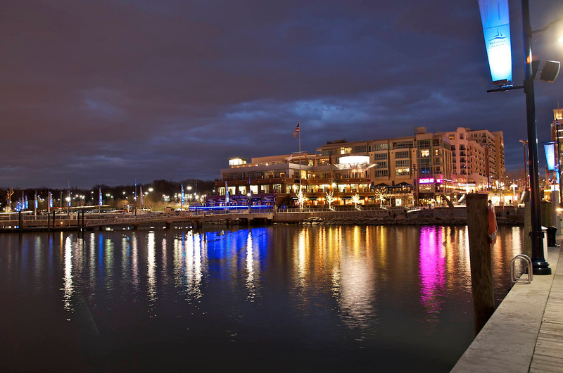 Night Reflections at National Harbor