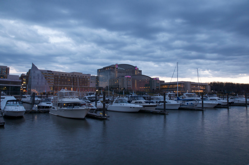 Twilight at National Harbor