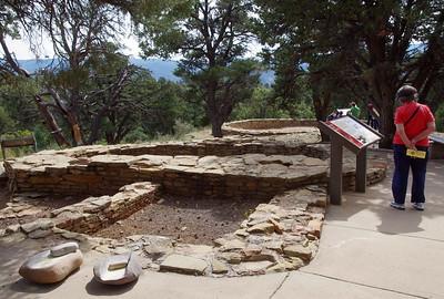 Pueblan ruins at Chimney Rock