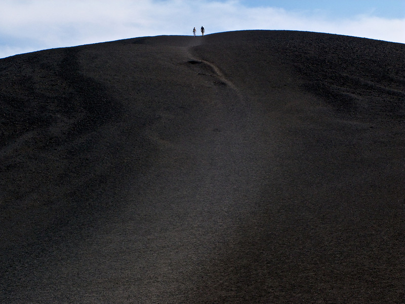 Cinder Cone Hikers, Craters of the Moon NM