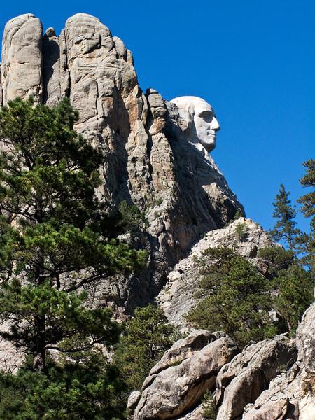 Washington's Profile, Mount Rushmore