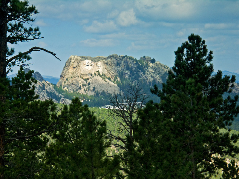 Mount Rushmore from Afar