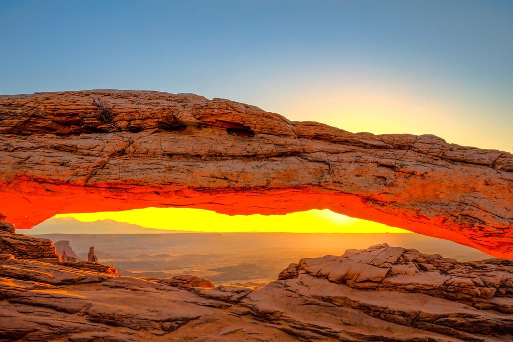 Mesa Arch Glow!
