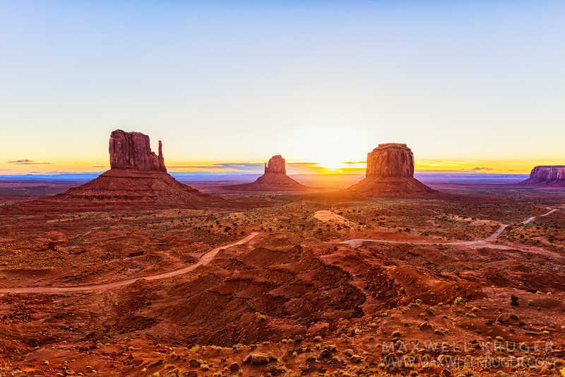 The Mittens<br>Monument Valley Navajo Tribal Park
