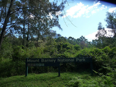 Entry to the National Park.