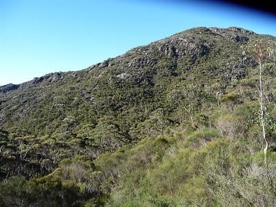 East Peak's western slope.