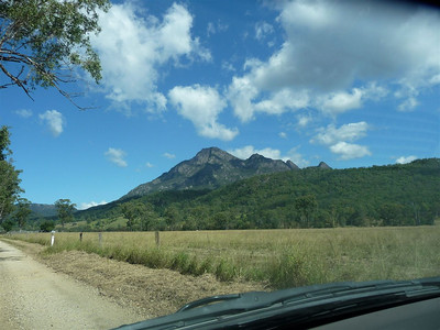 Mount Barney, there it is, waiting for us.
