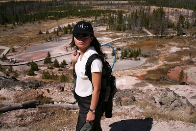 Artists' Paintpots Trail, Yellowstone National Park.