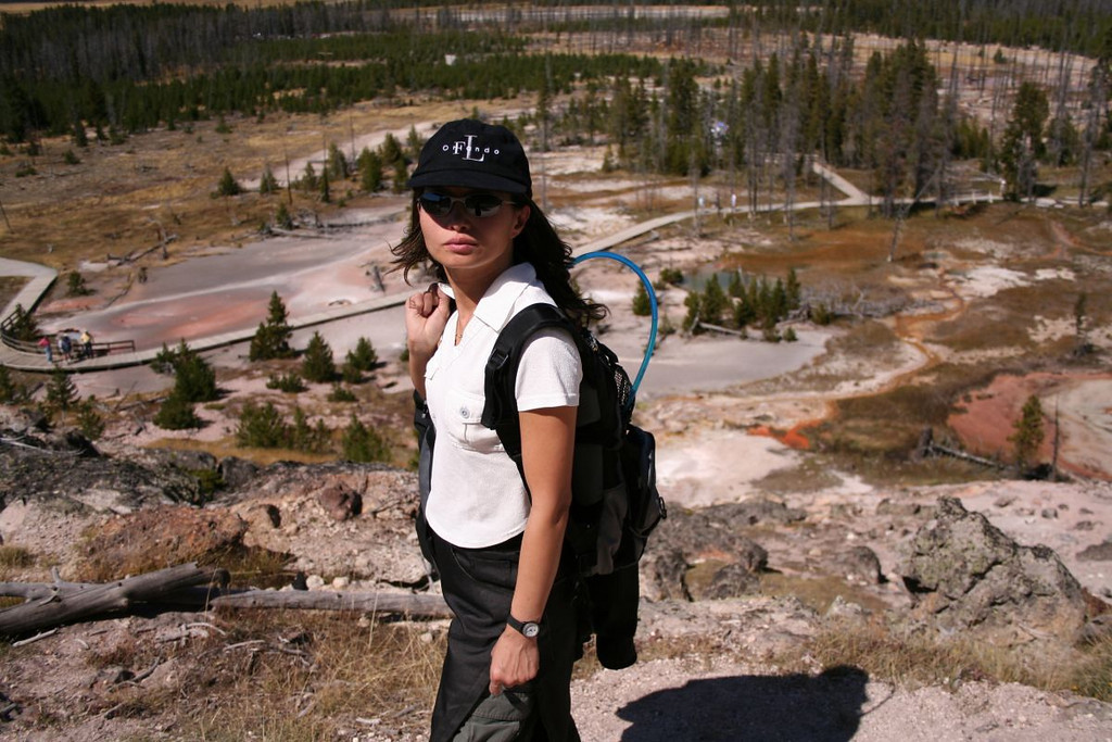 Artists' Paintpots Trail, Yellowstone National Park.