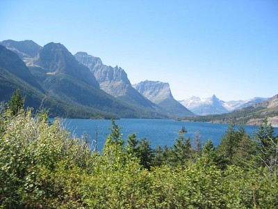 St. Mary Lake, Glacier Park.