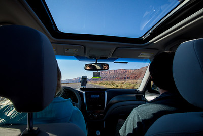 Almost to Arches National Park.