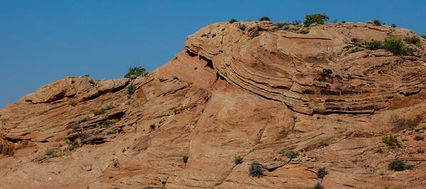 Linda's favourite layered rock.