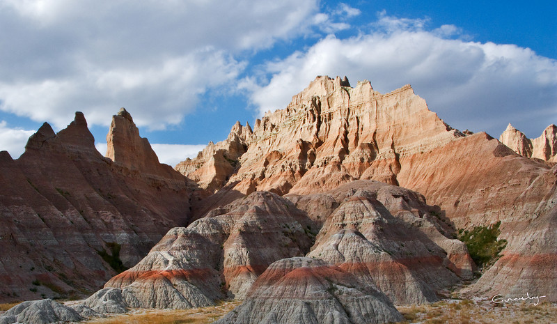 Soaring Peaks of the Badlands