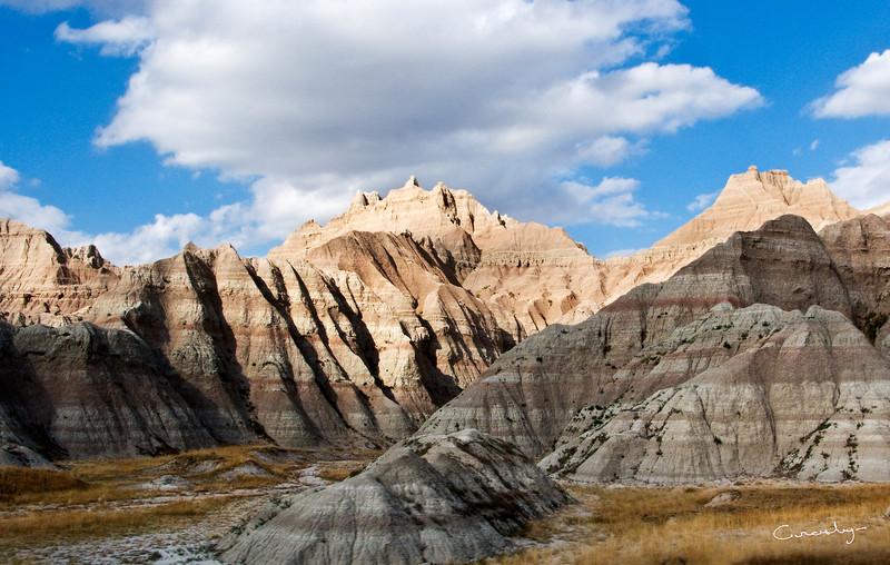 Badland Peaks