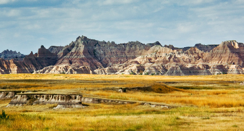 Approaching the Badlands
