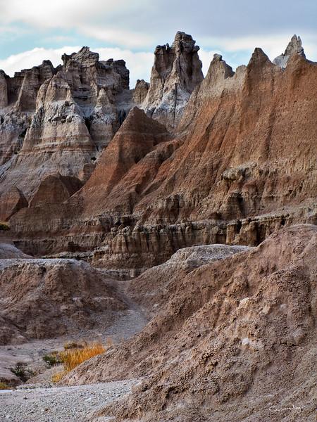 Jutting Peaks of the Badlands