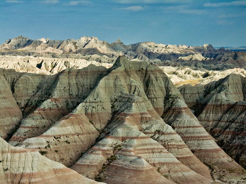 Banded Hills of the Badlands