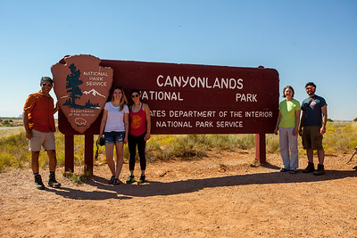 Another family took our picture at Canyonlands.  It was not too far from Arches.  Quite amazing.