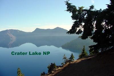Crater Lake NP 1974, 2001 ***