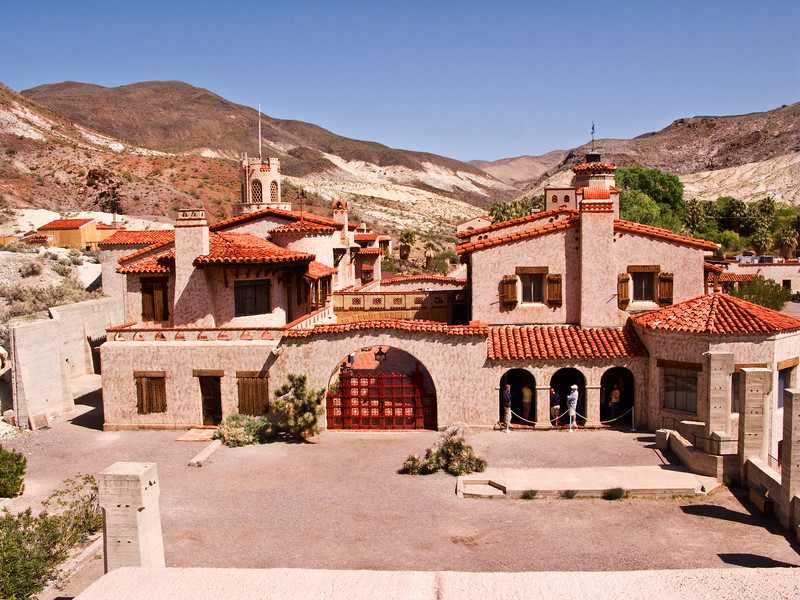 Scotty's Castle 1, Death Valley NP